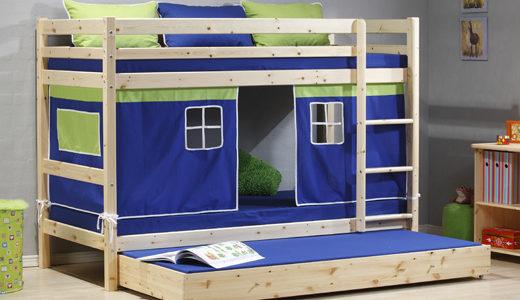 Łóżka piętrowe – wady i zalety